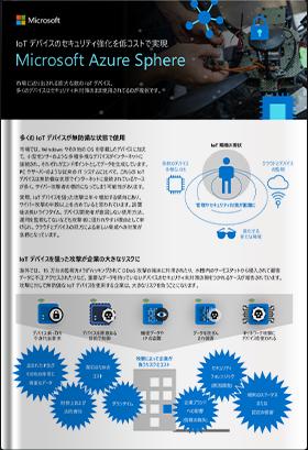 IoT デバイスのセキュリティ強化を低コストで実現 Microsoft Azure Sphere